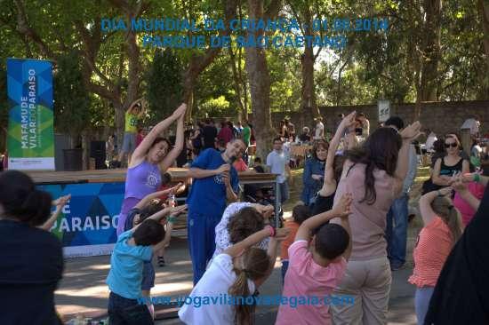 01.06.2014 - Yoga Vila nova de Gaia - Dia Mundial da criança 1