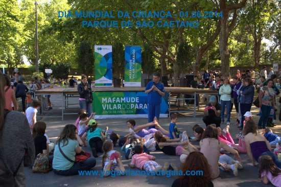 01.06.2014 - Yoga Vila nova de Gaia - Dia Mundial da criança 2