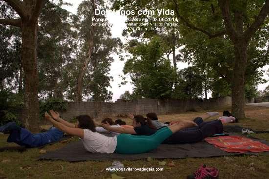 08.06.2014 - Yoga Vila nova de Gaia - Domingos com Vida - Parque de São Caetano 2