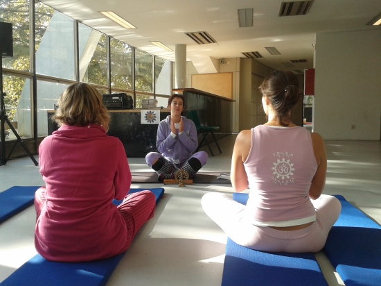 09.11.2014 - Yoga Vila nova de Gaia - Feira Alternativa (Porto)  - 2