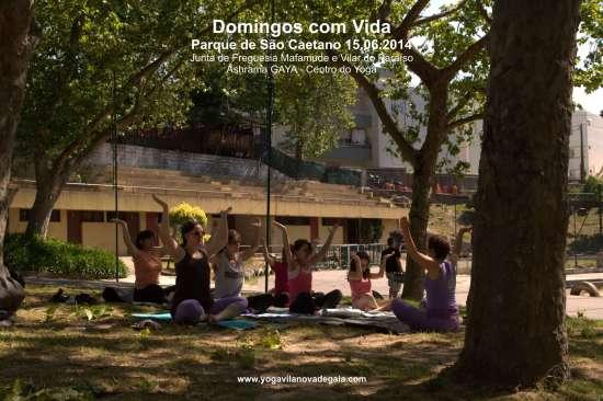 Domingos com Vida - VNG - 15.06.2014