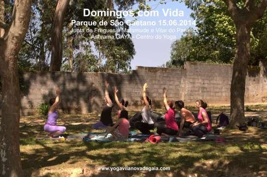 15.06.2014 - Yoga Vila nova de Gaia - Domingos com Vida - Parque de São Caetano - 2