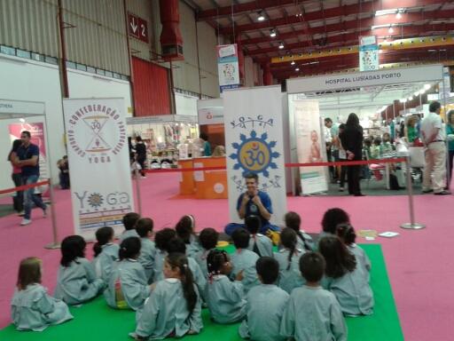 16.05.2014 - Yoga Vila nova de Gaia - Feira Ser Mamã (Exponor) - 1