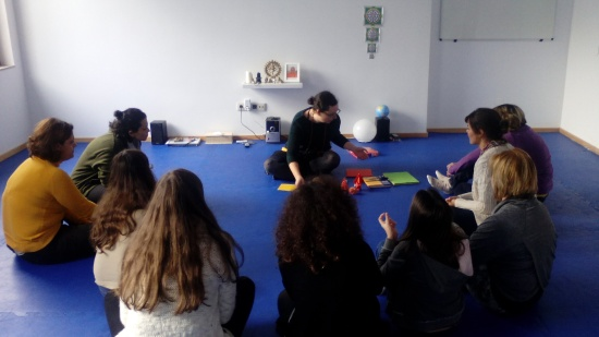 24.11.2014 - Yoga Vila nova de Gaia - workshop Origami - 1