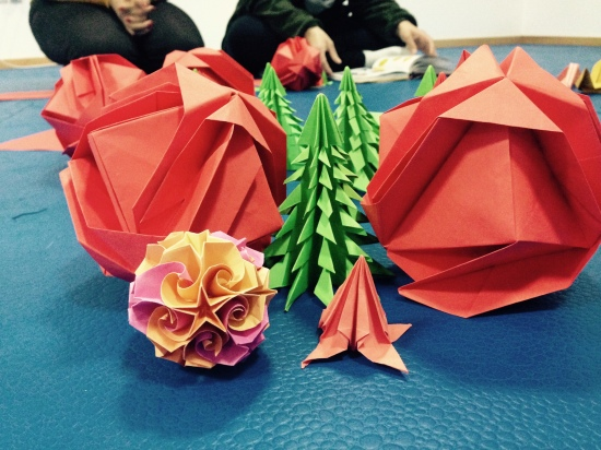 24.11.2014 - Yoga Vila nova de Gaia - workshop Origami - 2