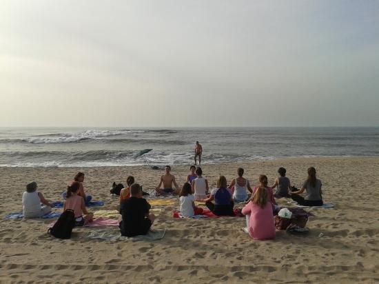 25.10.2014 - Yoga Vila nova de Gaia - Yoga na Praia (Francelos) - 1