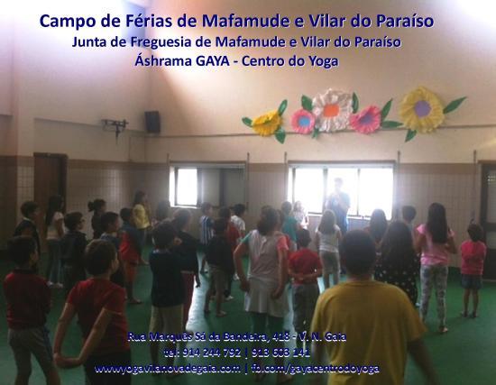 27.07.2014 - Yoga Vila nova de Gaia - Férias mafamude e Vilar do Paraíso - 1