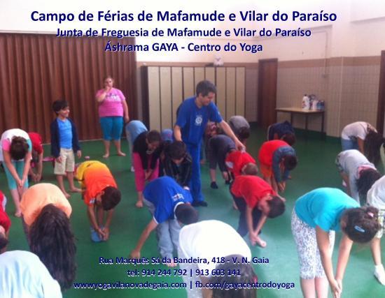 27.07.2014 - Yoga Vila nova de Gaia - Férias mafamude e Vilar do Paraíso - 2