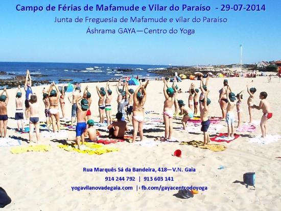 29.07.2014 - Yoga Gaia - Campo de Férias de Mafamude e Vilar do Paraíso - 2
