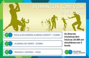 Domingos com Vida - 15.06.2014