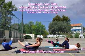 Domingos com Vida - 29.06.2014 - Alamenda Cedros - Yoga 6