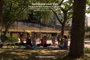 Domingos com Vida - Yoga - (15.06.2014) - Parque de São Caetano 1