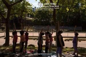Domingos com Vida - Yoga - (15.06.2014) - Parque de São Caetano 2