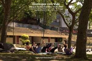 Domingos com Vida - Yoga - (15.06.2014) - Parque de São Caetano 4