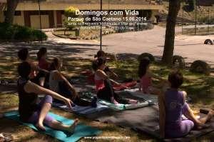 Domingos com Vida - Yoga - (15.06.2014) - Parque de São Caetano 5