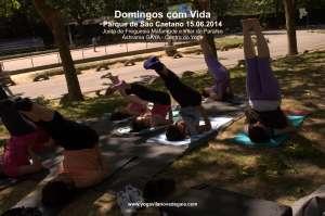 Domingos com Vida - Yoga - (15.06.2014) - Parque de São Caetano 6