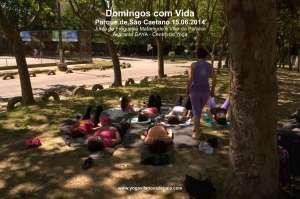 Domingos com Vida - Yoga - (15.06.2014) - Parque de São Caetano 7