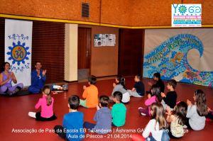 yoga vila de gaia crianças EB Bandeira 2