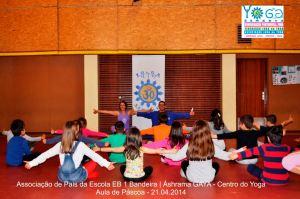 yoga vila de gaia crianças EB Bandeira 4