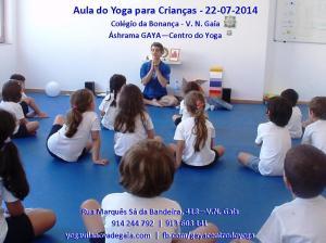 Yoga Gaia - Aula Colégio da Bonança - 22.07.14 - 2