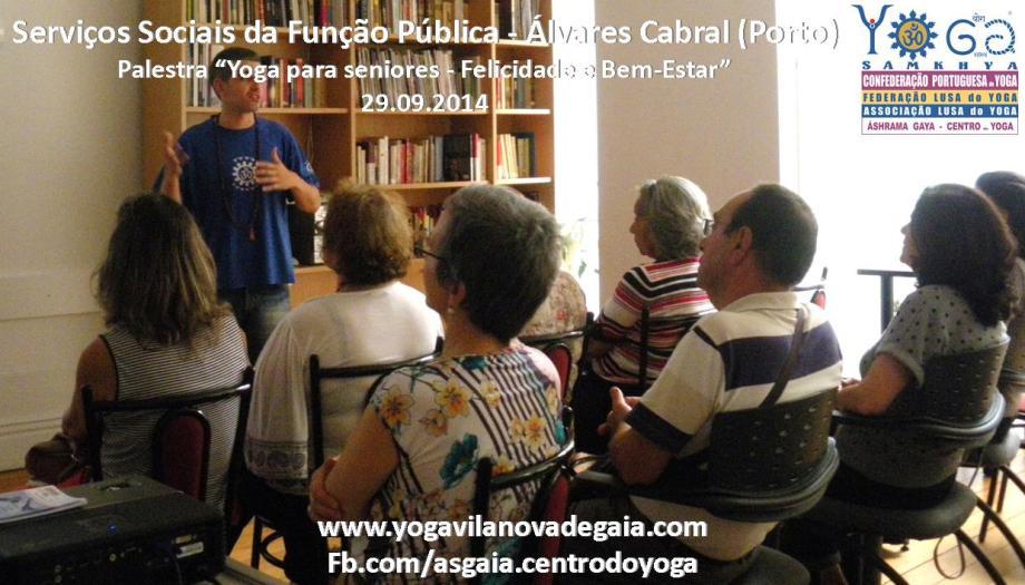 Yoga Gaia -Yoga palestra seniores - SSAP - Álvares Cabral 2