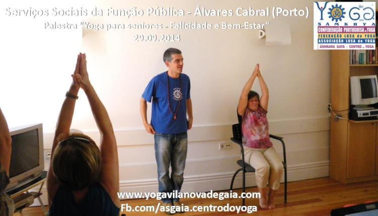 Yoga Gaia -Yoga palestra seniores - SSAP - Álvares Cabral 4