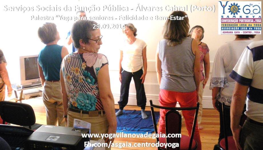 Yoga Gaia -Yoga palestra seniores - SSAP - Álvares Cabral 5