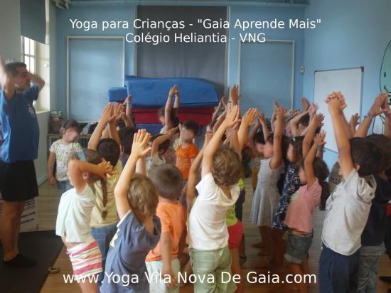 07.07.2015 - Yoga para Crianças - Programa Aprende+ Colégio Heliantia - VNG