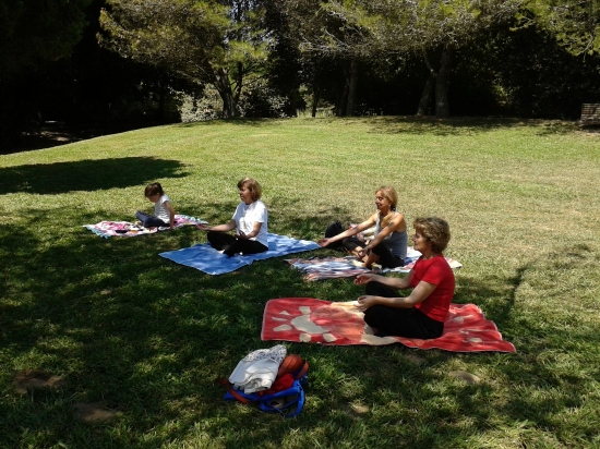 09.07.2015 - Yoga para Seniores (Serviços Sociais Administração Pública) 1