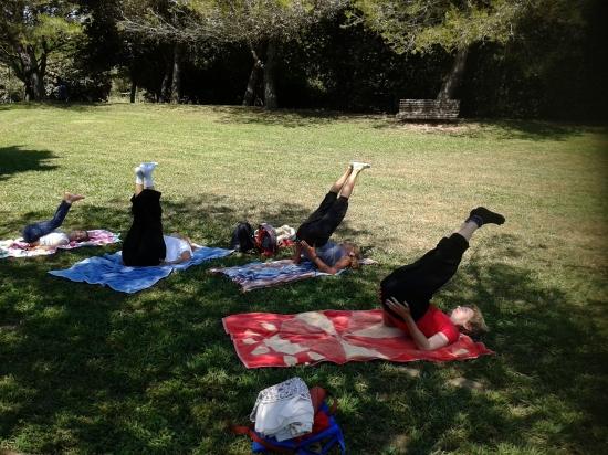 09.07.2015 - Yoga para Seniores - Serviços Sociais Administração Pública