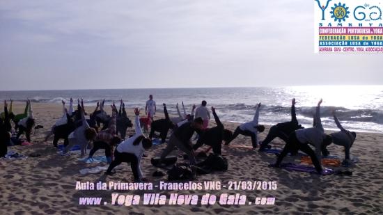 21.03.2015 - Yoga na Praia Francelos (VNG) 3