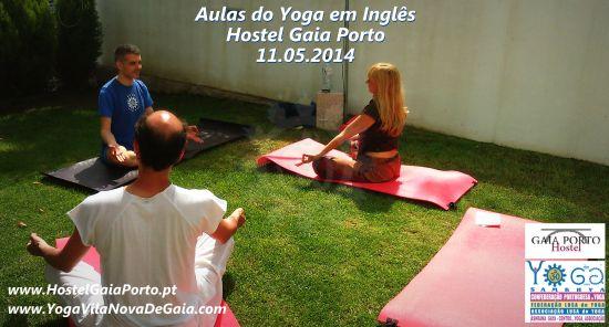 21.05.2015 - Yoga para turistas (Inglês) - Gaia Porto Hostel VNG