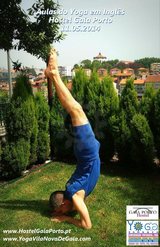 21.05.2015 - Yoga para turistas - Hostel Gaia Porto - VNG