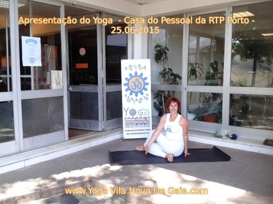 25.06.2015 - Apresentação do Yoga na RTP Porto - VNG