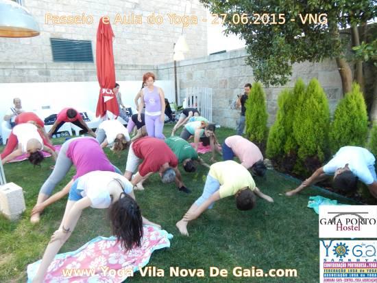 27.06.2015 - Caminhada e aula do Yoga (Hostel Gaia Porto VNG) 1