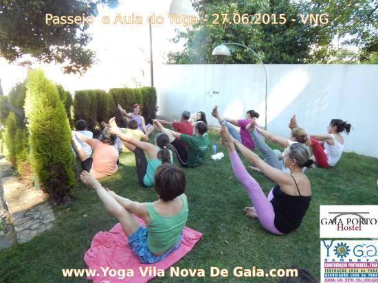 27.06.2015 - Caminhada e aula do Yoga (Hostel Gaia Porto VNG) 2