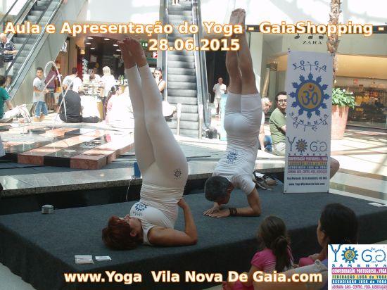 28.06.2015 - Apresentação do Yoga Avançado - Gaiashopping - VNG